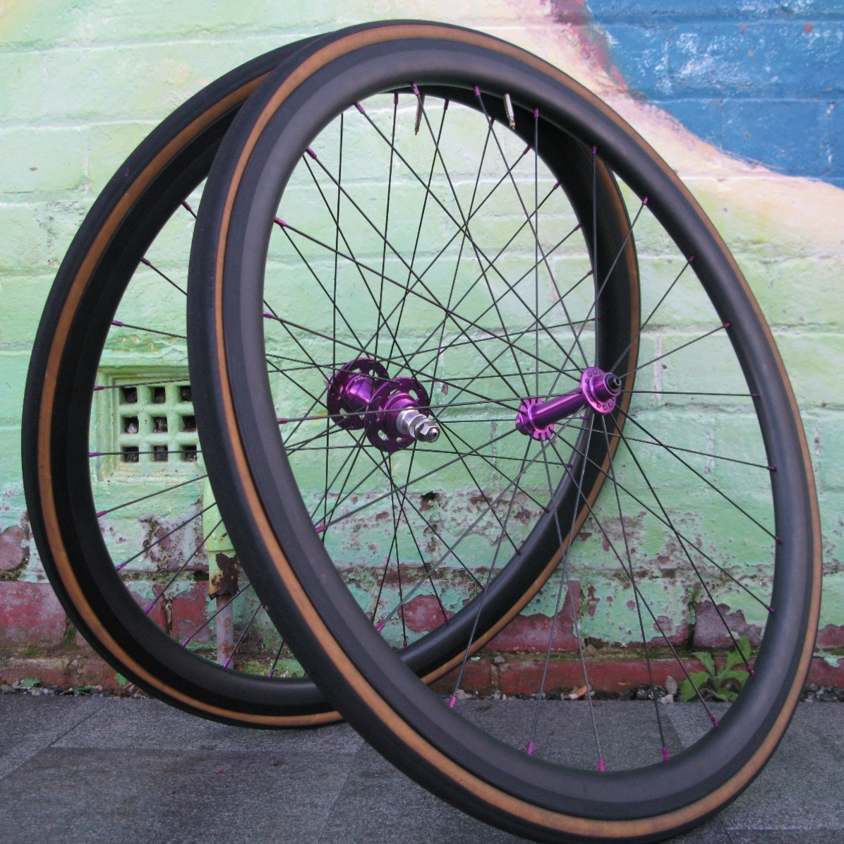Patrick S Halo Circus Monkey Single Speed Carbon Wheelset Melody